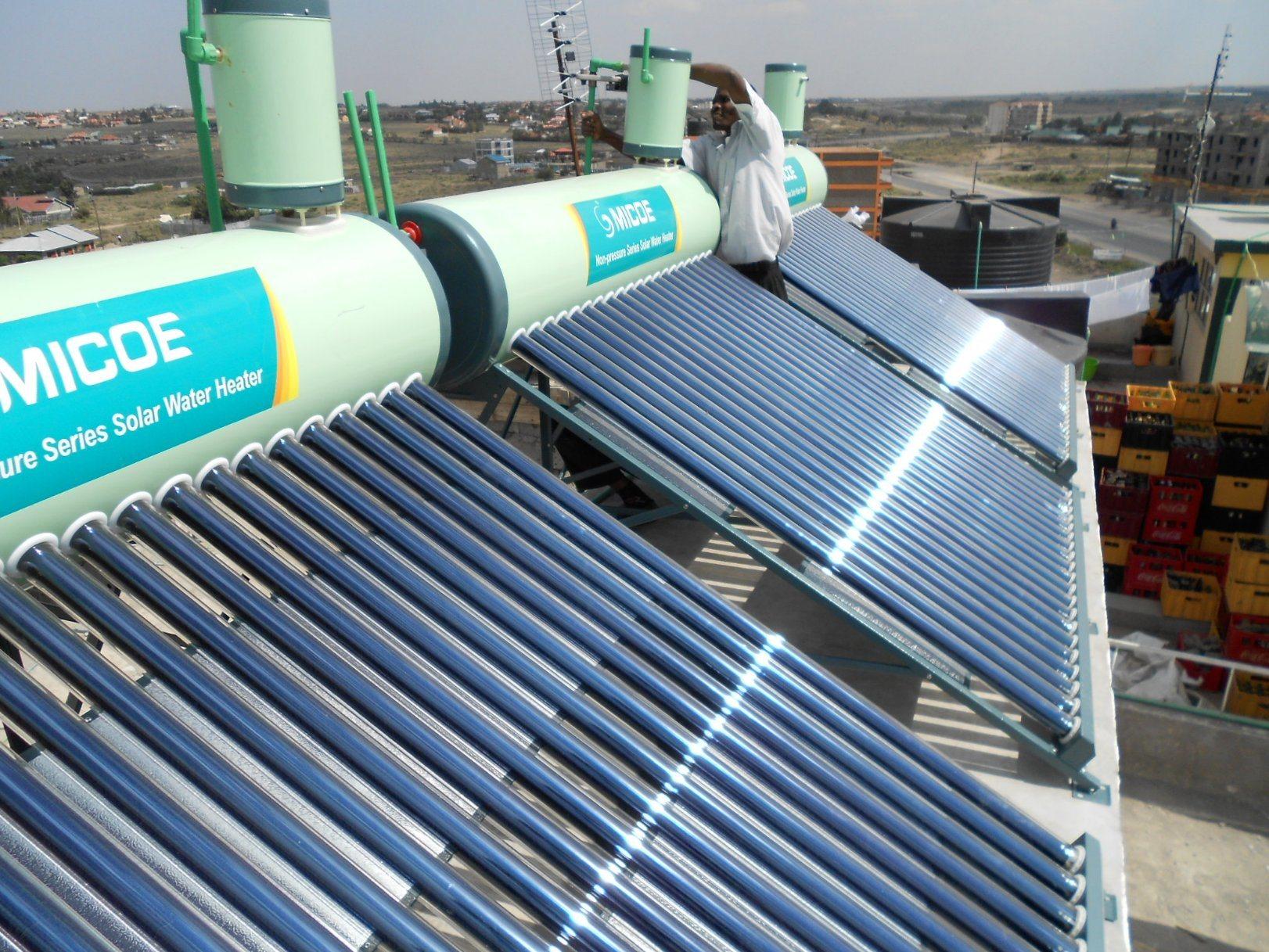 China 300L Non-Pressurized Vacuum Tube Solar Energy Hot Water Heater ...