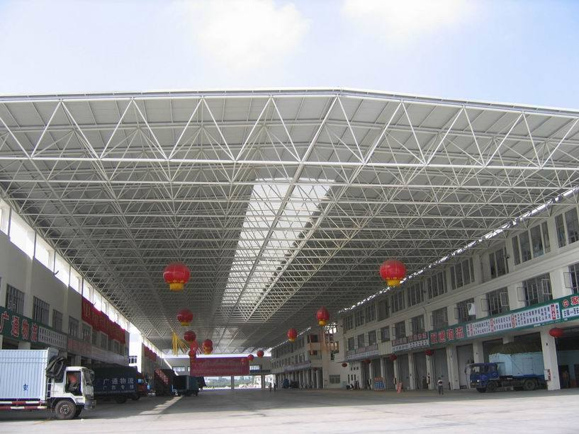 China Steel Space Frame Structure for Shed Roof - China Steel Frame ...