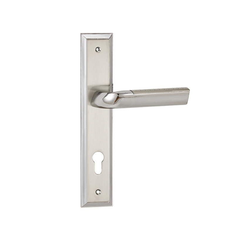 Gentil China High Precision Door Hardware Handle Set Zamak Aluminum ...
