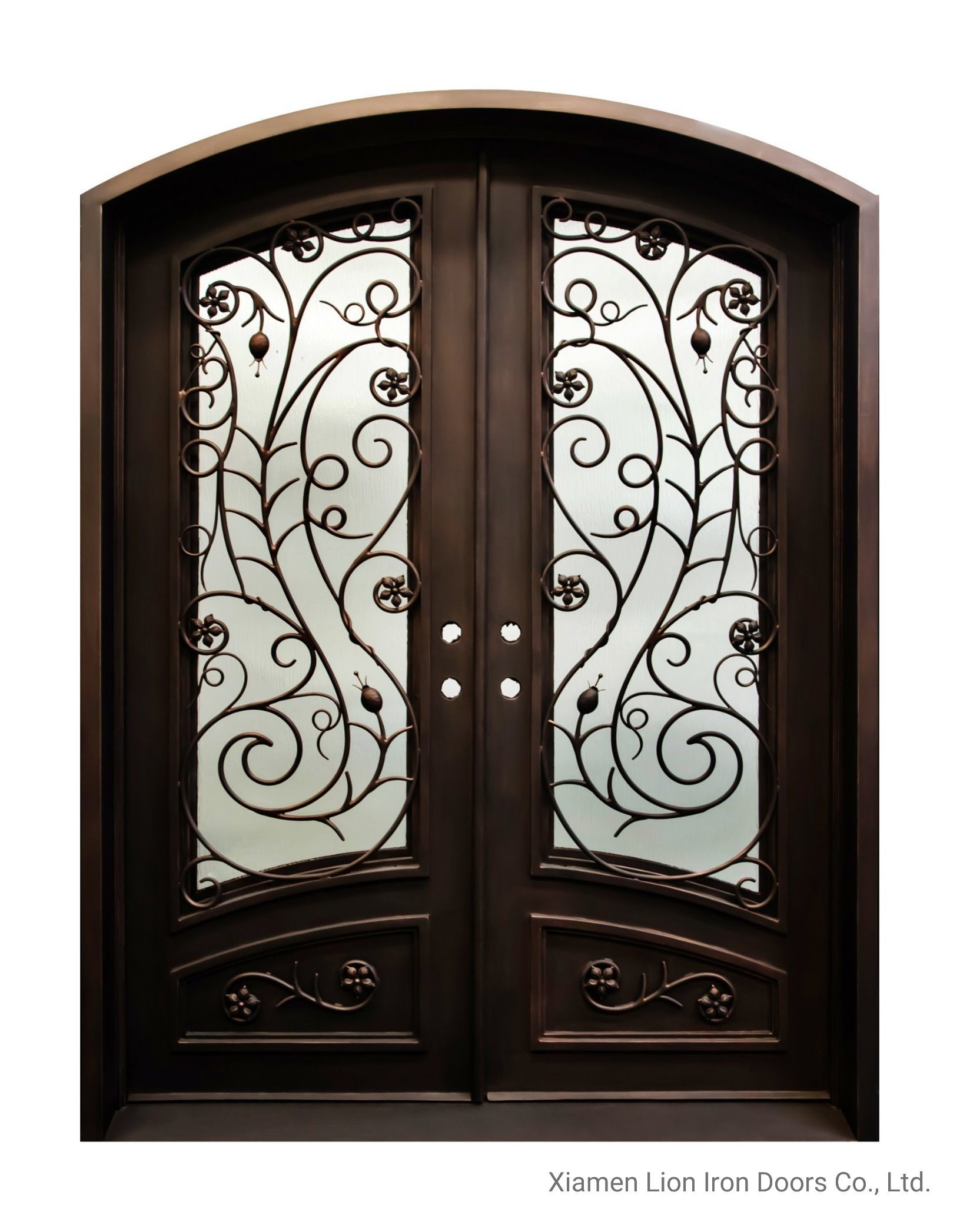 Eyebrow Top Interior Entry Iron Door