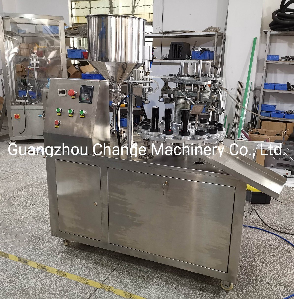 Erythromycin Ointment Filling Sealing Machine pictures & photos
