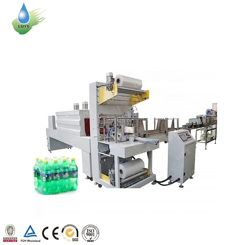 China PE Shrink Beer and Water Bottles Plastic Film