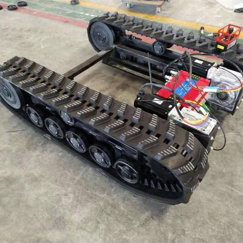 China Rubber Track Undercarriage System With 800 Kg Load