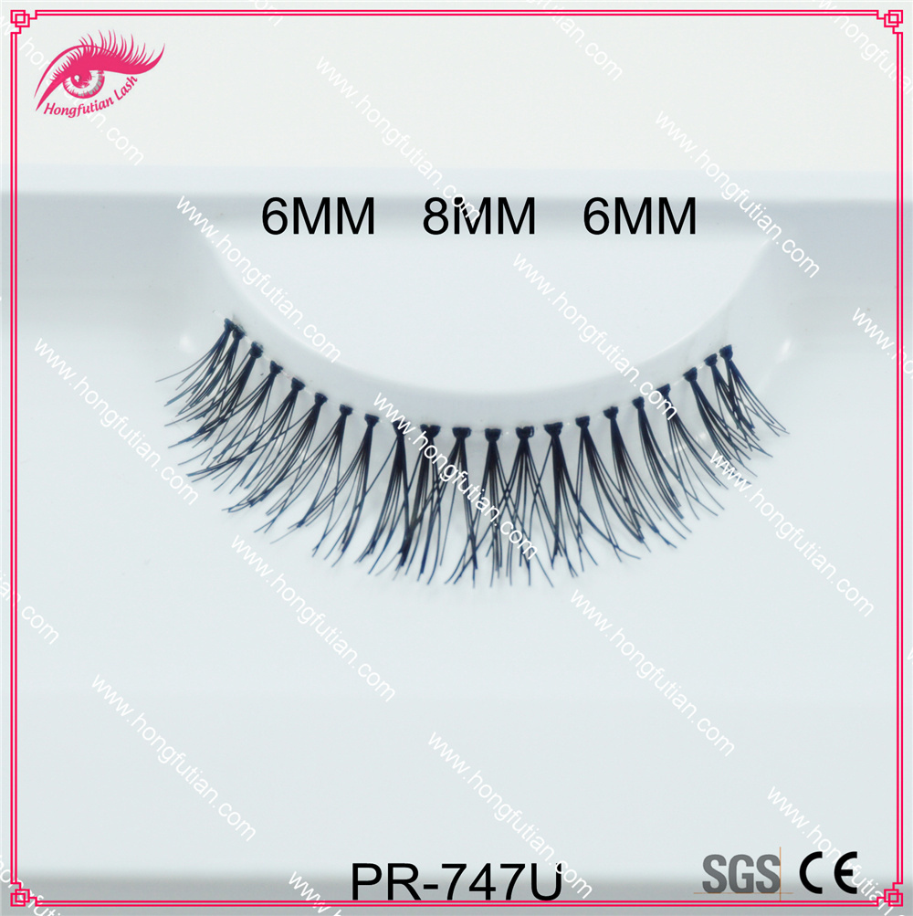 False Eyelash Handmade Natural Long Human Hair Eyelashes Beauty Product