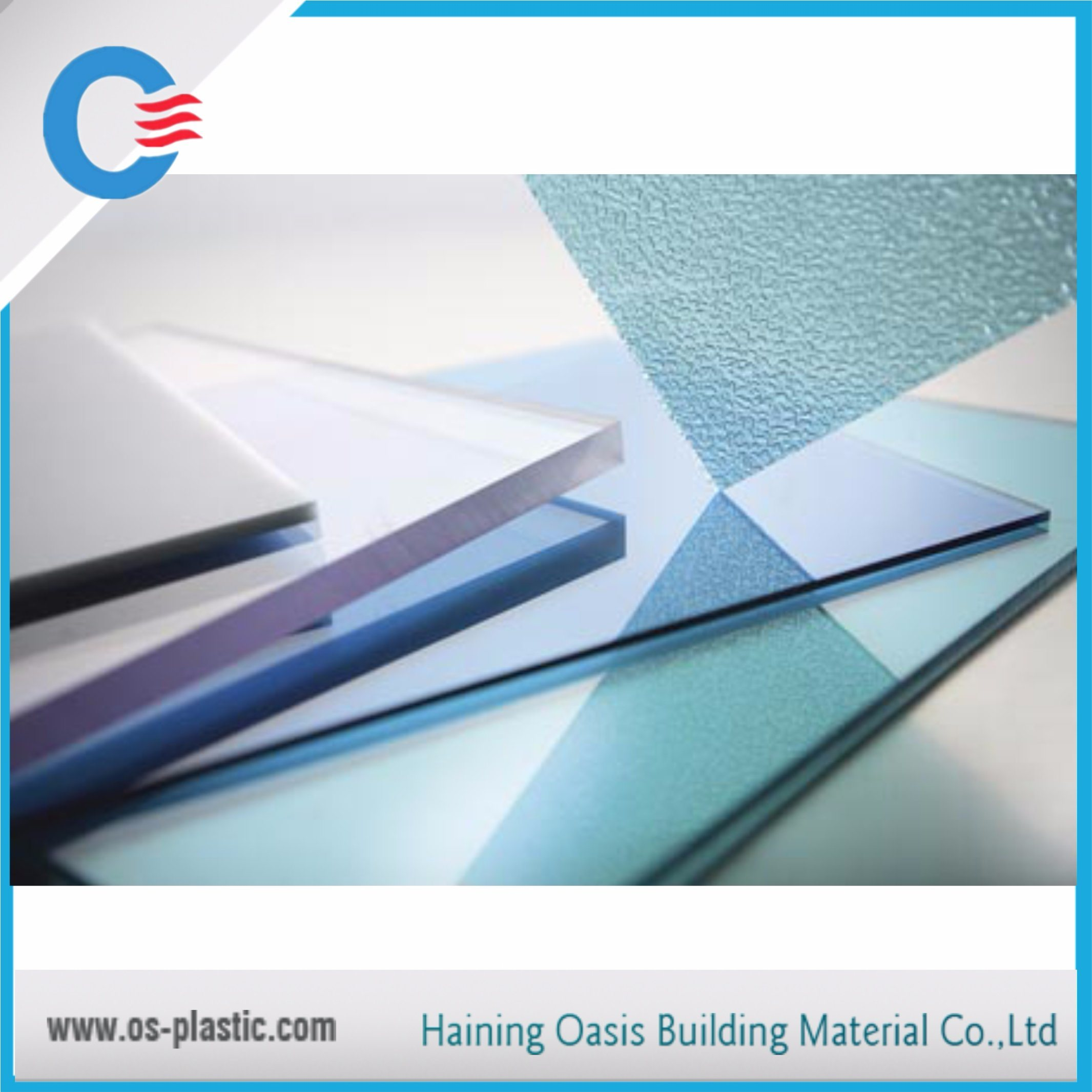 Color and Size Customized Polycarbonate Solid Sheet