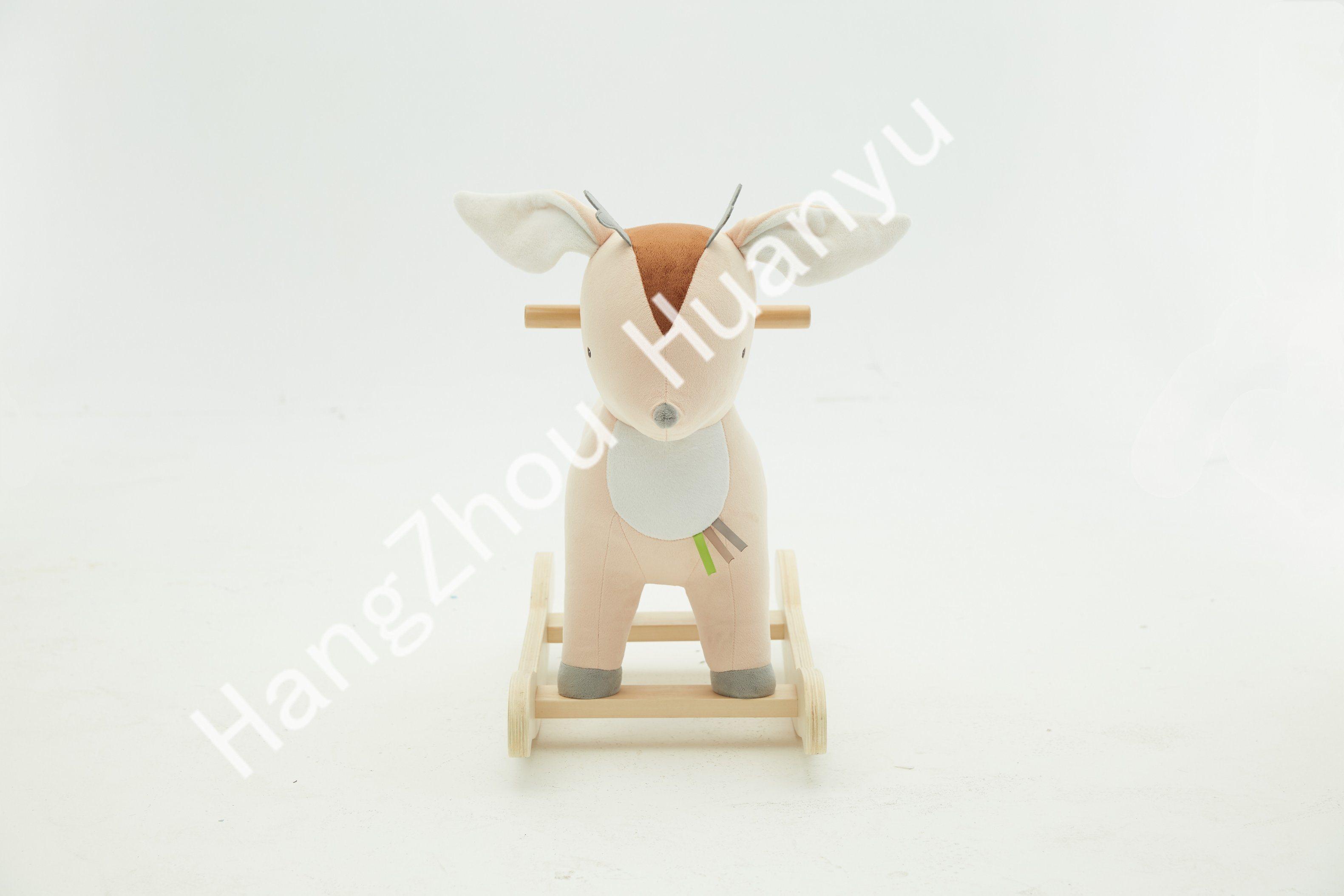 China Labebe Wooden Rocking Horse Animal Deer Ride On Toys China Wooden Toy And Rocking Horse Price