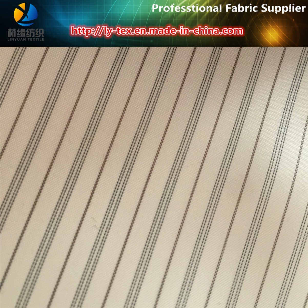 Upscale Men Suit Lining in Polyester Woven Stripe Fabric (S180.181) pictures & photos