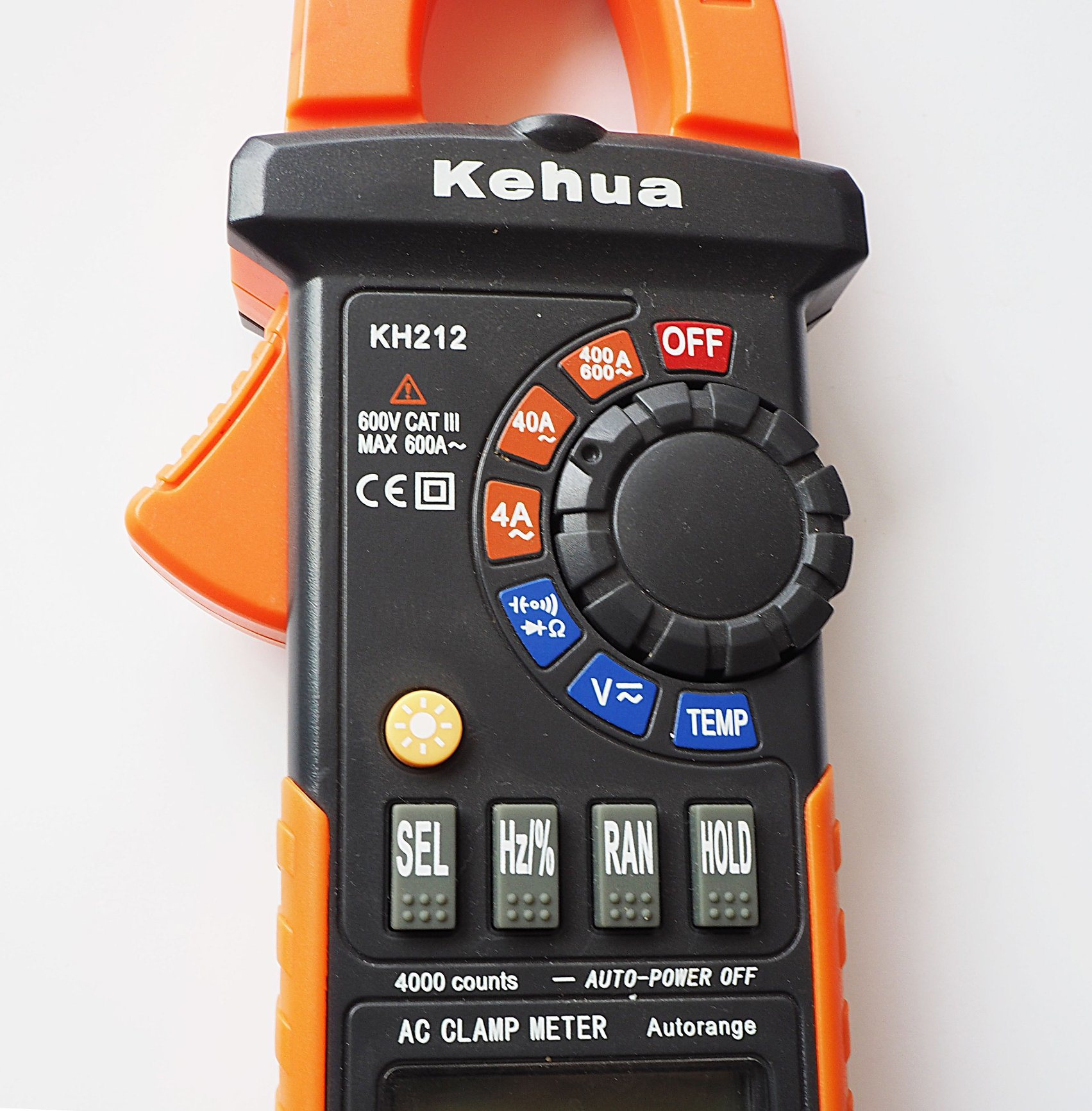 High Quality Digital Clamp Meter (KH212) with Ce Certified