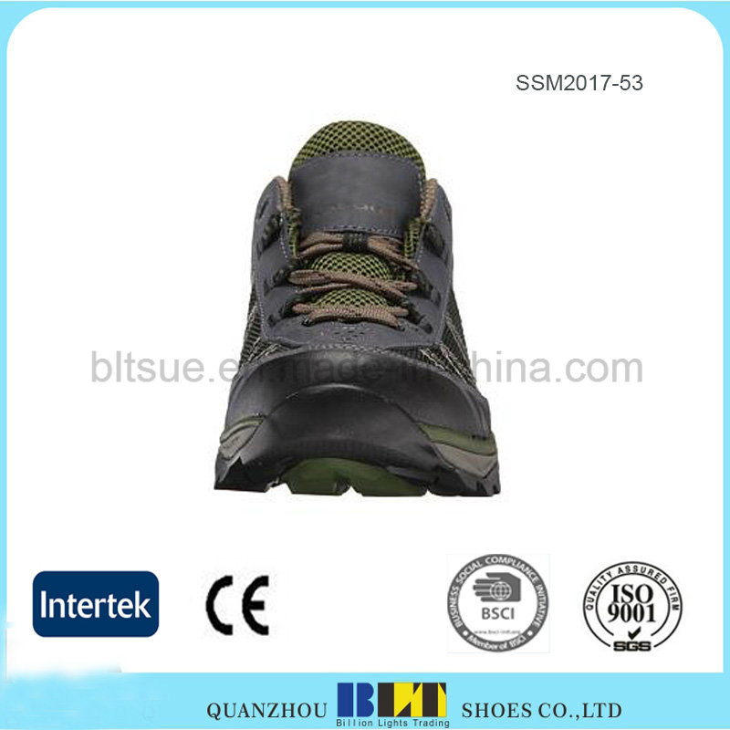 Lightweight and Durable Molded PU Midsole Hiking Shoes pictures & photos