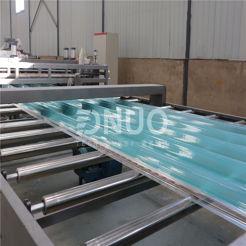 China Frp Corrugated Clean Roofing Sheet Making Machine For India Market Photos Pictures Made In China Com