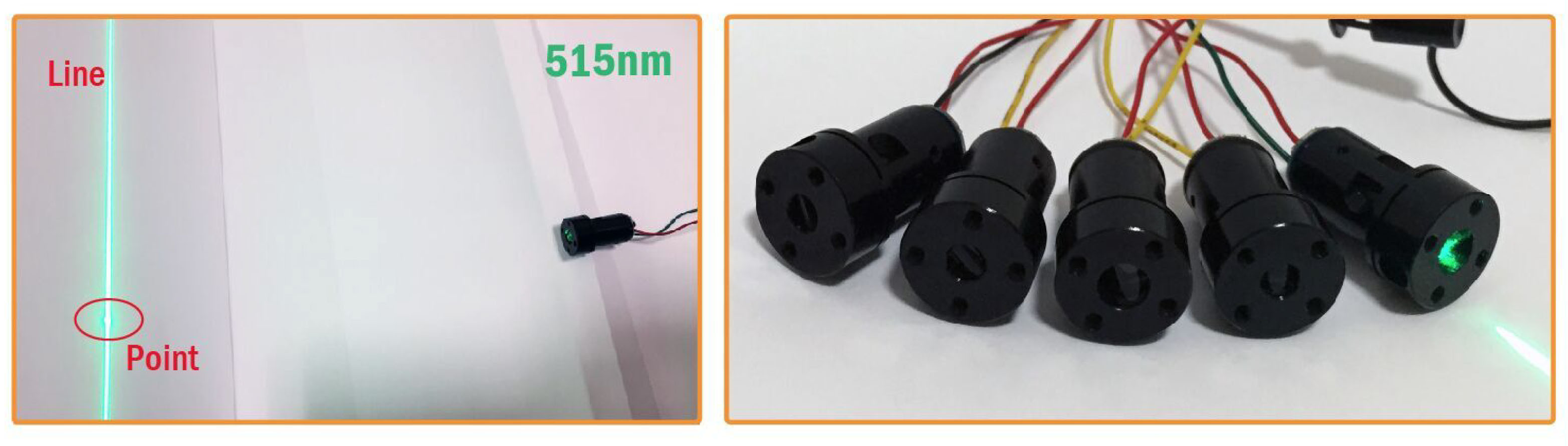 Red /Green Laser Modules for Sewing Machines, Golf Field and All Kinds of Application.