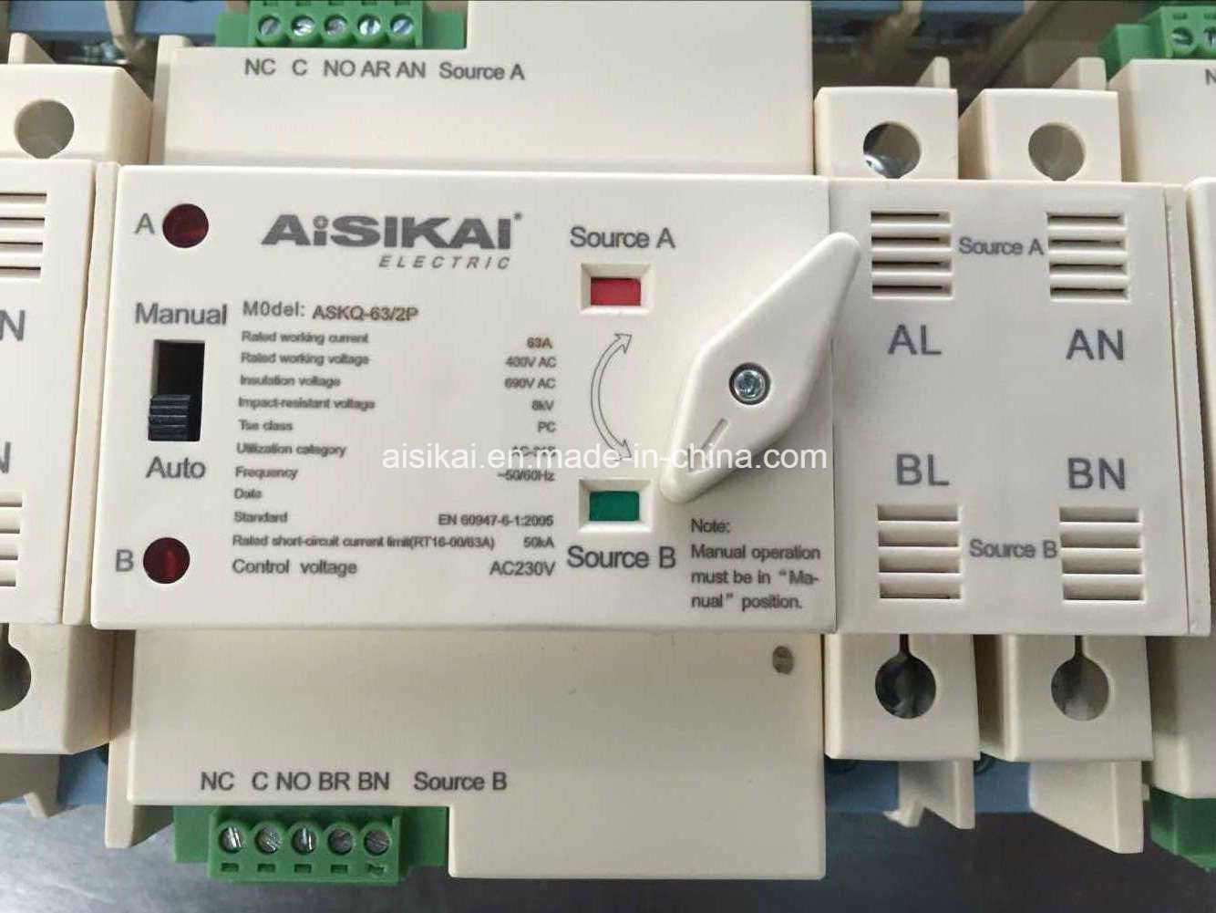 China Mini Automatic Transfer Switch Ats House Use Photos Pictures For Generator View