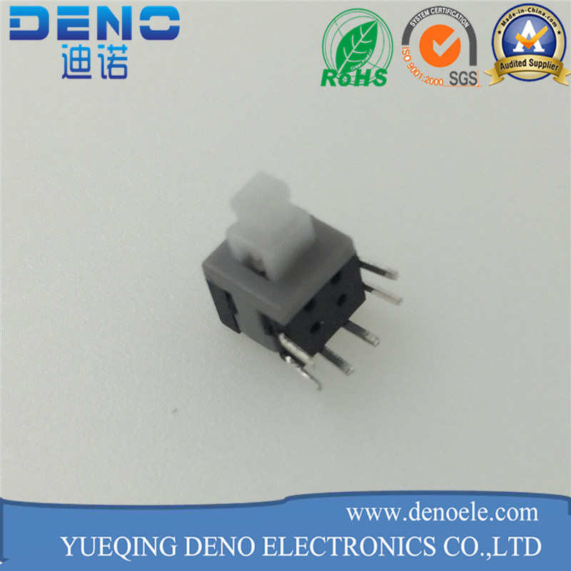 5.8 Slide Feet 6 Pin Push Switch pictures & photos