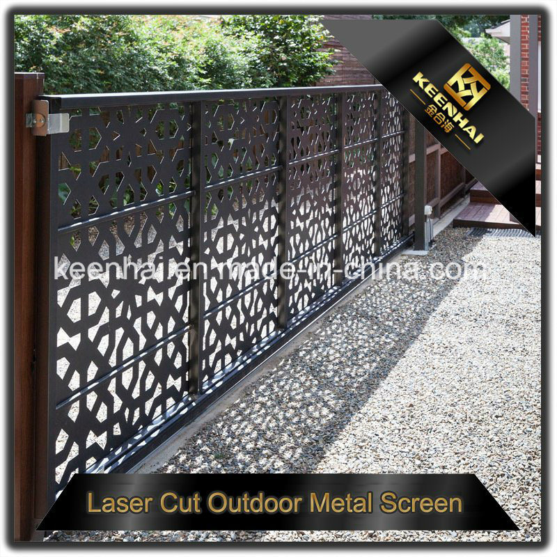 China Customized Laser Cut Outdoor Metal Garden Fencing Kh Bh Ap 005 Fence Panels