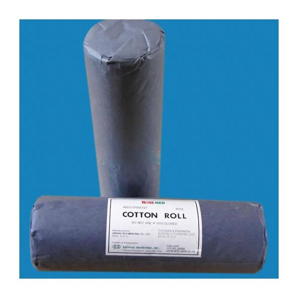 Medical Absorbent Gauze Cotton Woll Roll Approved by Ce ISO
