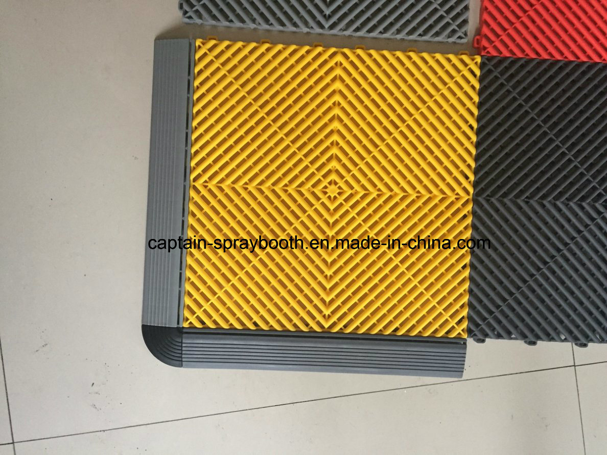 China Outdoor Plastic Rubber Sports Flooring Tileeco Friendly