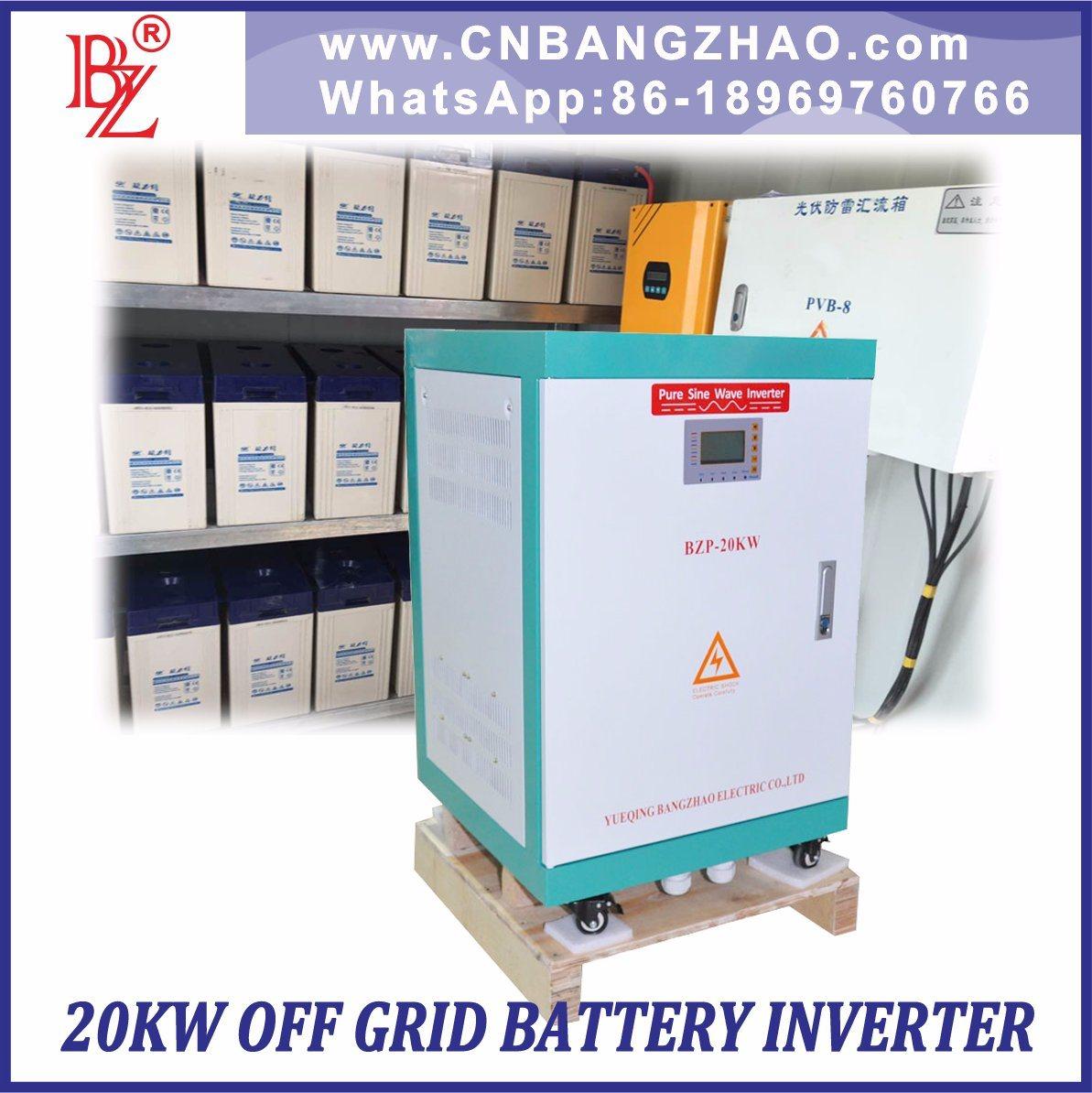 China Two Phase Three Wire Hybrid Solar Sine Wave Inverter 192VDC to ...
