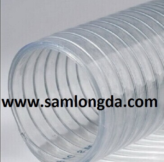 China High Pressure PVC Spiral Steel Wire Reinforced Hose - China ...