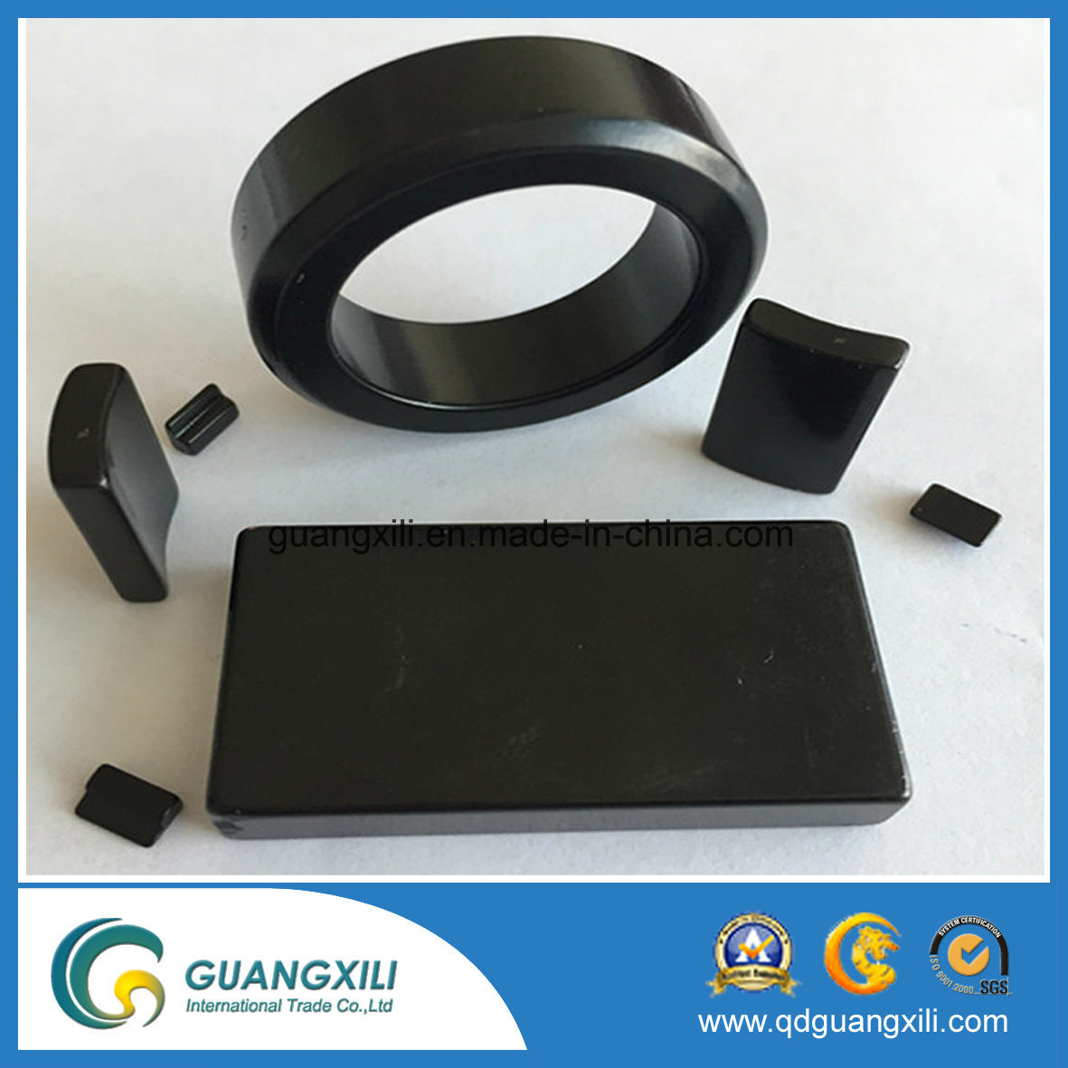 Y30bh Rare Earth Ferrite Magnet with ISO14001 Used for Wiper Motor pictures & photos
