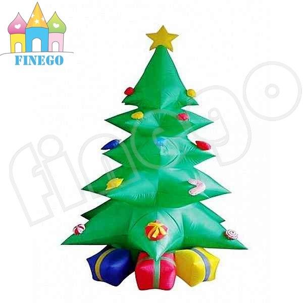 Inflatable Christmas Tree and Santa Claus Combined Christmas Gift pictures & photos