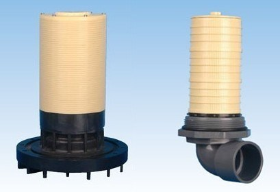 Top Mount Water Distributor for FRP Vessel in Water Purification