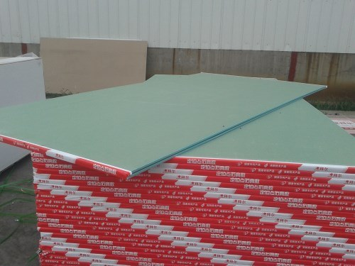 Fire Proof Gypsum Board Plasterboard Moisture Proof pictures & photos