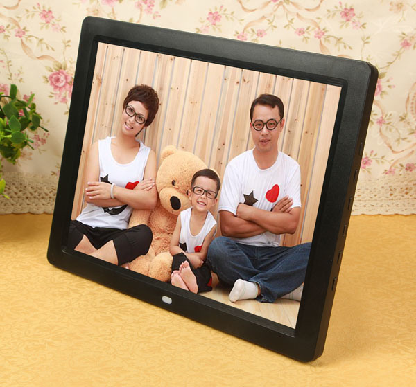 China 12 Inch Hdmi Input Digital Photo Frame With Audio Output