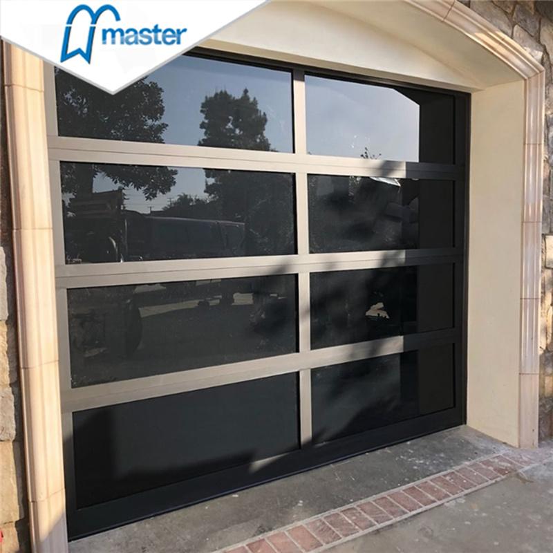 China 16 X 8 Full Doors Metal And Gl Garage Door