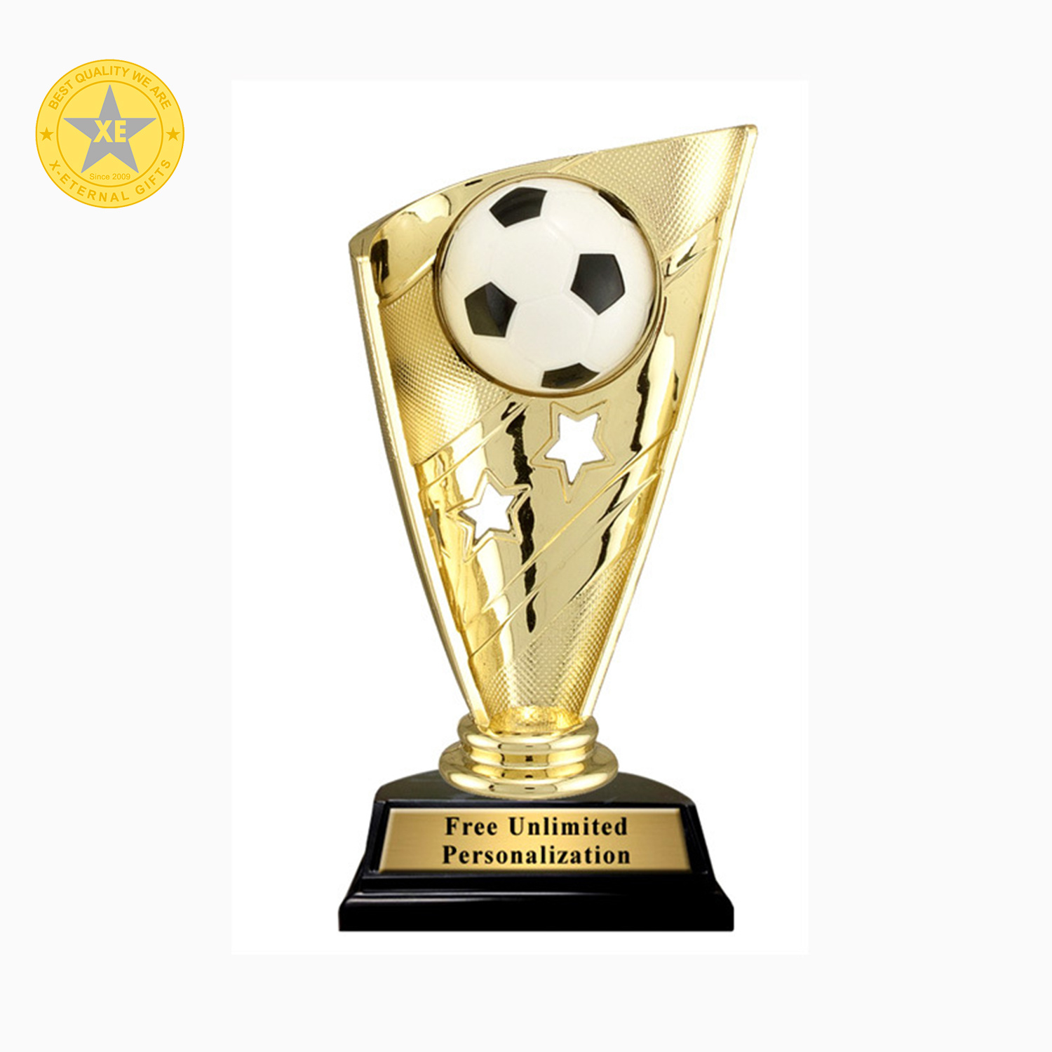 High Quality Gold Metal Custom World Sports Trophy pictures & photos