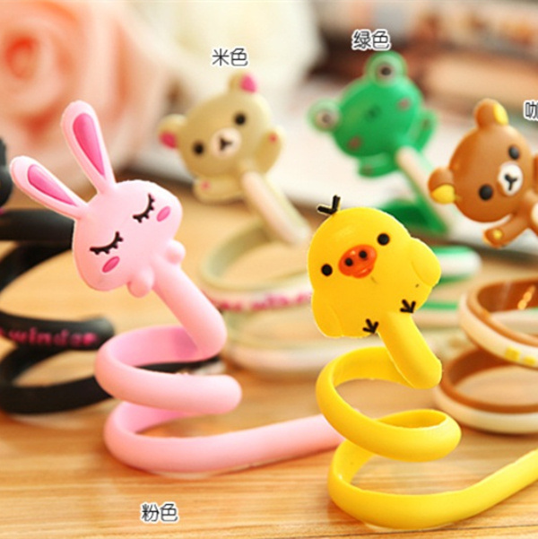 Wholesale Bulk Cheap Silicone Headphone Cord Wrap pictures & photos