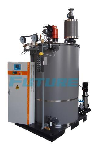 China 200kg/H Vertical Watertube Oil (Gas) Fired Steam Boiler with ...
