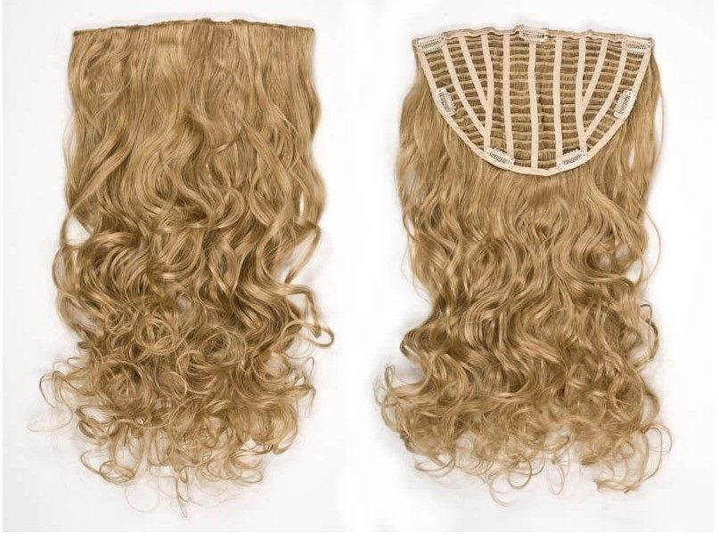 China Clip In Half Wig Virgin Hair Clip On Hair Extensions Av Hw00