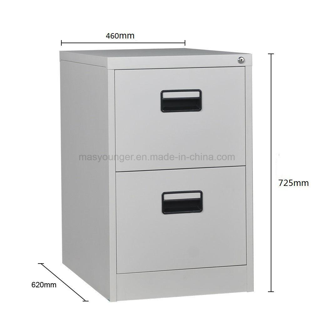 2 Drawer Steel Filing Storage Cabinet