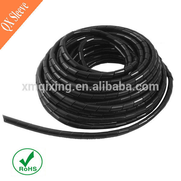 China Flexible Tubing PE Spiral Wire Wrap - China Spiral Wire Wrap ...