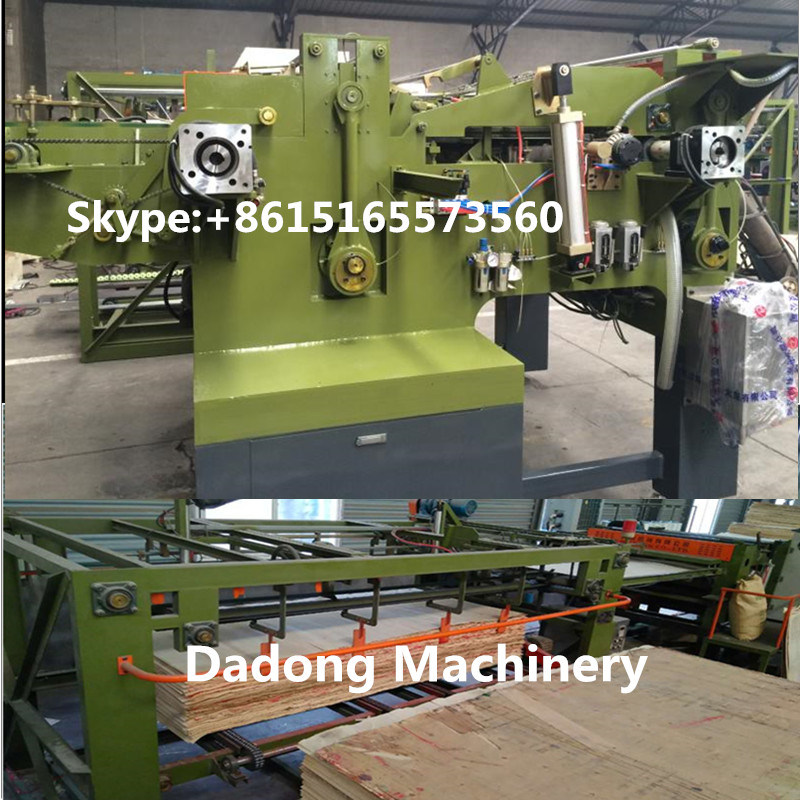 Plywood Machine Core Veneer Composer Jointing Machine Woodworking Machinery pictures & photos