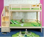 China Sampo Kingdom High Quality Pine Wood Children Bedroom ...