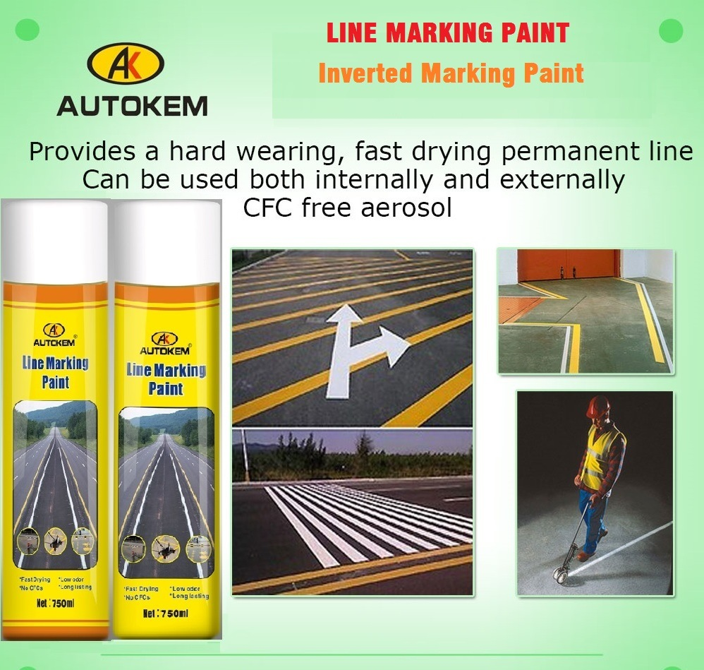 Line Marking Paint, Road Marking Paint, 750ml Line Marking Paint, Permanent Line Marking Paint, Road Marking System, Line Marker