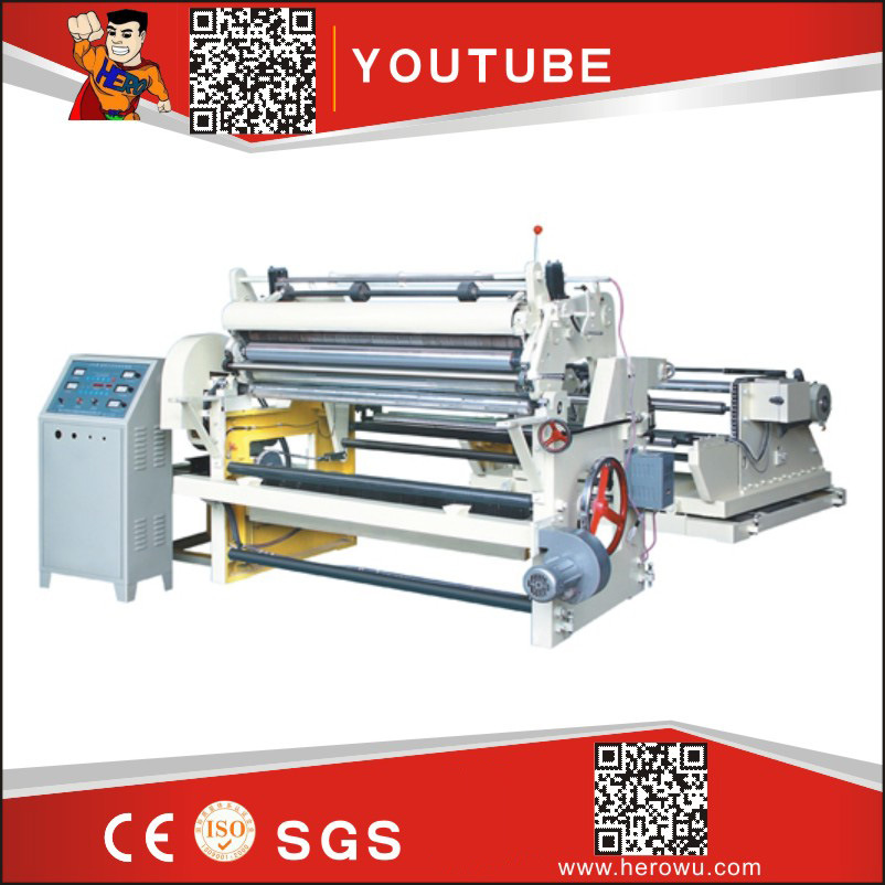CE Standard PVC Pet BOPP OPP PE Paper Film Slitting Machine
