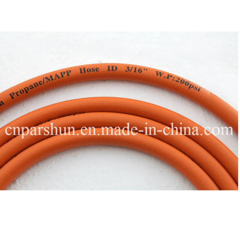 [Hot Item] High Performance Flexible Braided Gas Cooker Connection Hose in  SBR, NBR, EPDM Material
