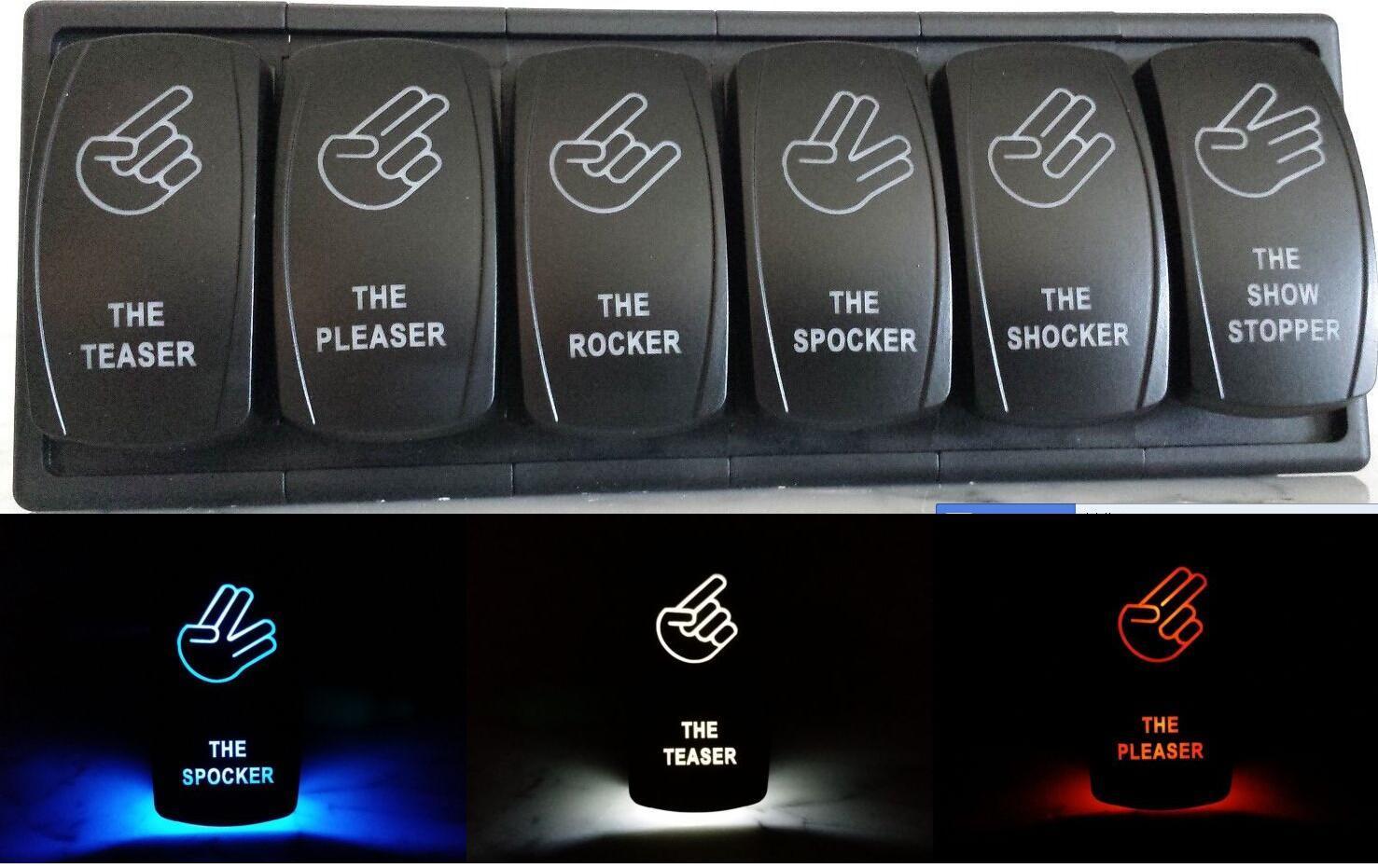 China Offroad Arsenal Rocker Switch Dash Switches Panels China