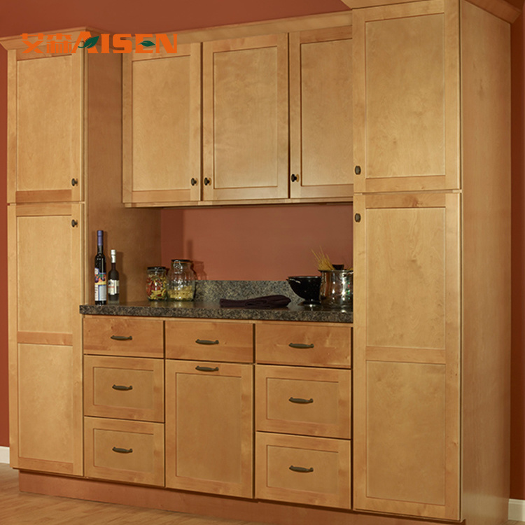 China Imported Modular Kitchen Cabinets with Wooden Kitchen ...
