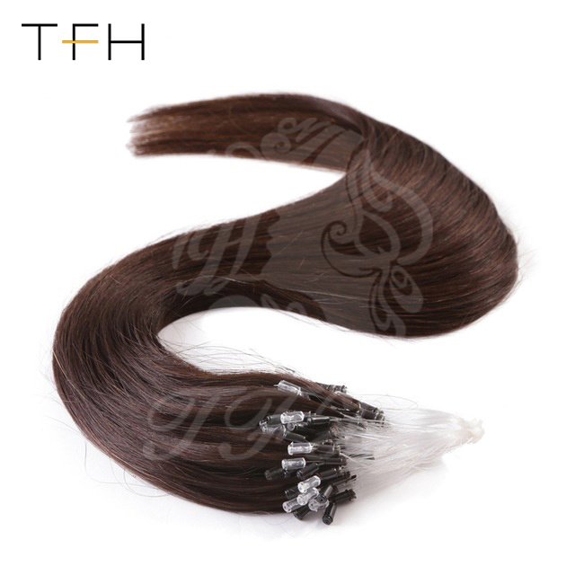 China Tfh Loop Ring Hair Extension Remy Micro Bead Hair Extensions