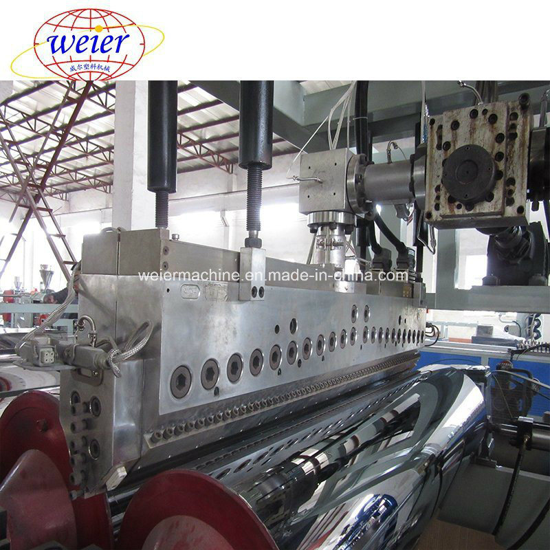 China Cpet APET Pet Sheet Roll Plastic Manufacturing Machine with