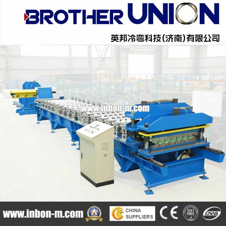 Cold Rolled Tile Plate Roll Forming Line