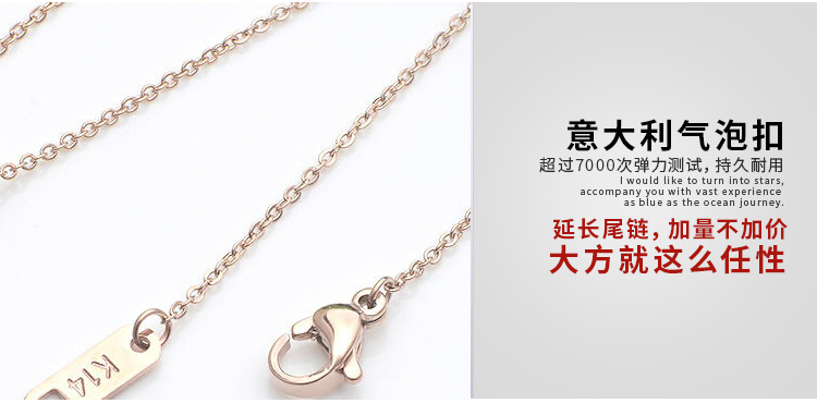 Fashion Accessories Pendant Stainless Steel Necklace (hdx1054) pictures & photos