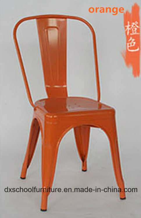 Retro Style Leisure Iron Chair for Coffee Shop pictures & photos