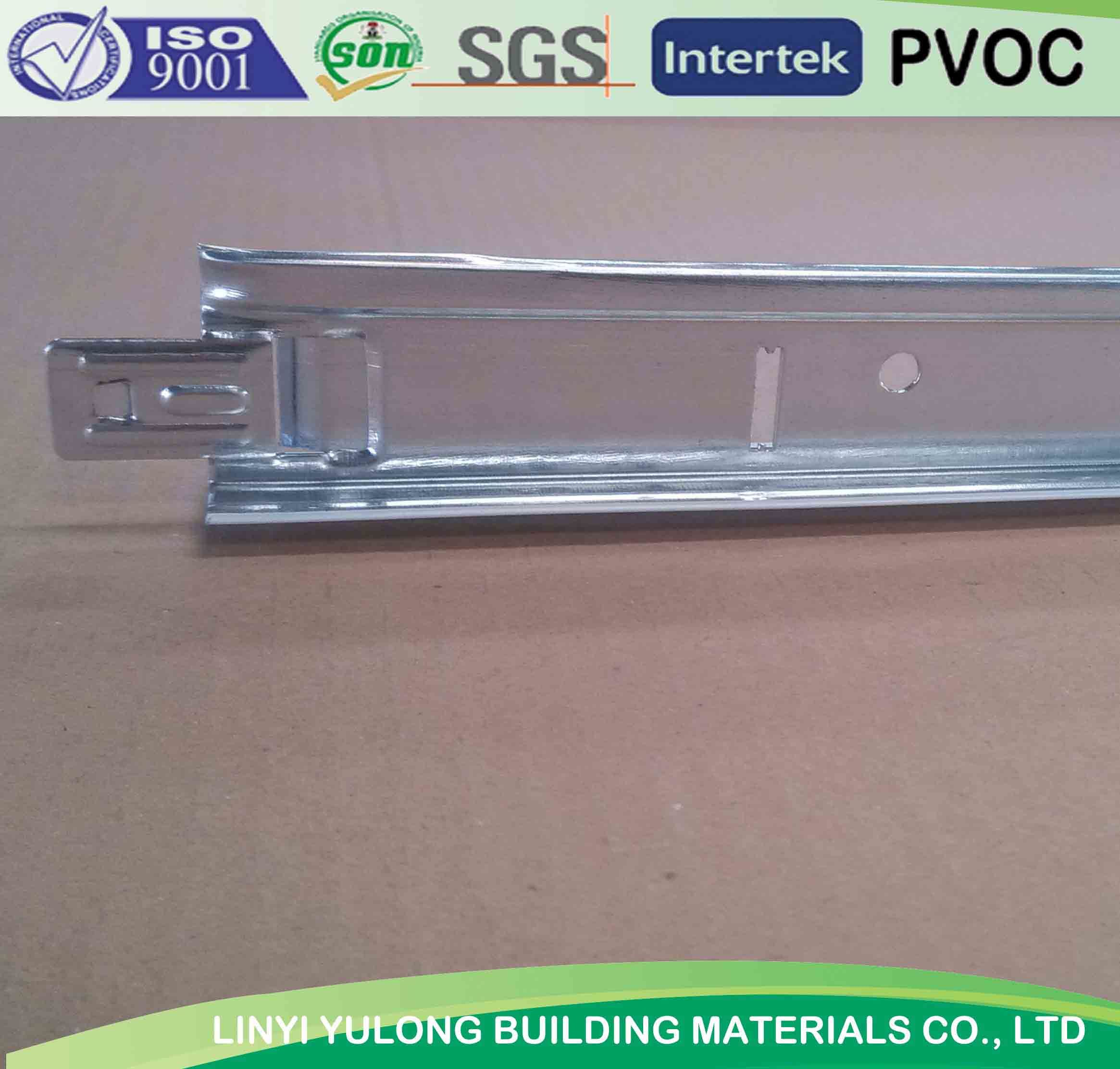 Good Quality 32h/38h T Grid/ T Bar for PVC Gypsum Ceiling and Mineral Fiber Ceiling System