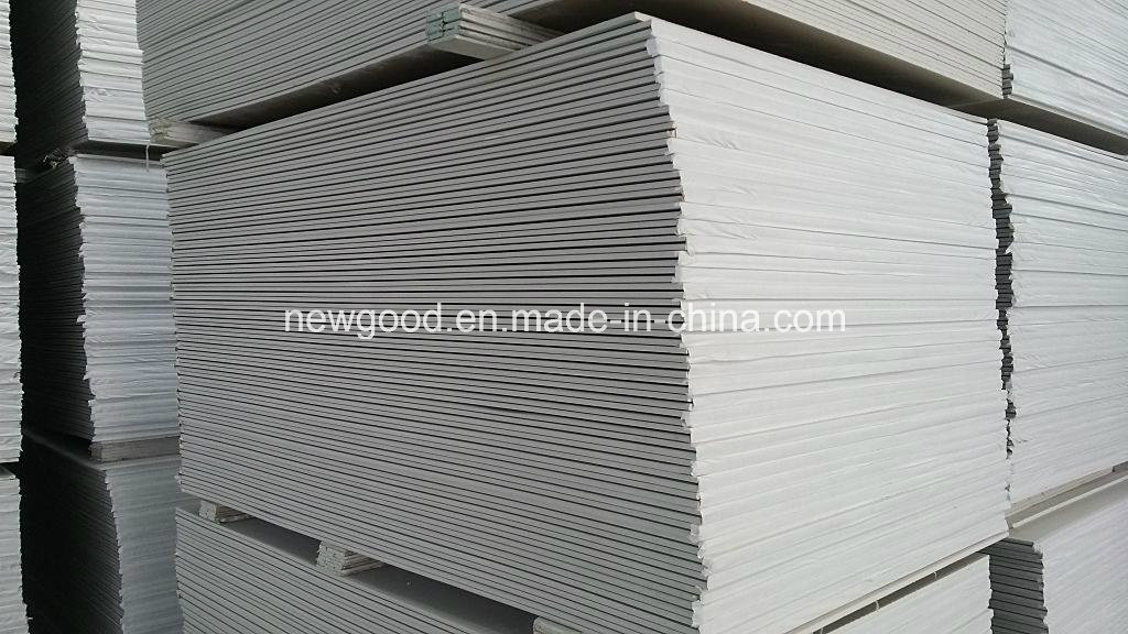 Standard Paper Faced Gypsum Board, Plasterboard, Drywall, Moisture Resistant Gypsum Board, Fire Proof Drywall -- Prices From $0.8 Per Sqm