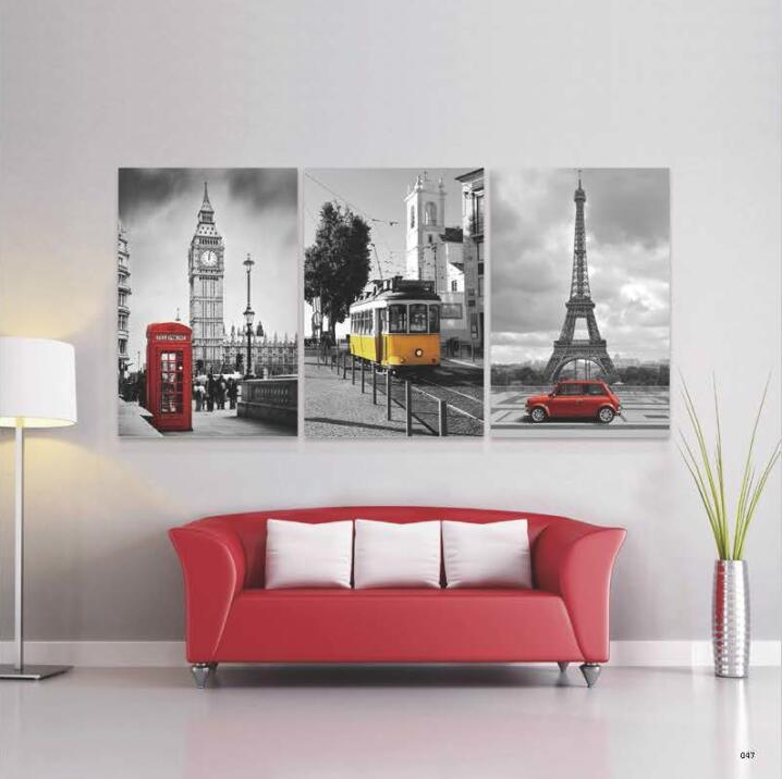 Europe Style Paintings Art on Canvas