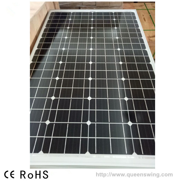 High Efficiency PV 160W Mono Crystalline Silicon Solar Panel (QW-M160W) pictures & photos